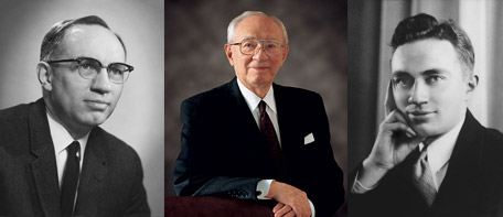Photos of President Hinckley