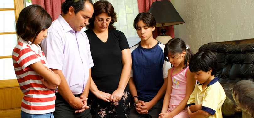 Happiness in Family Life: Prayer
