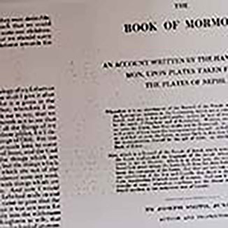 Book of Mormon string binding