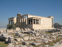 ruins of Greek temple