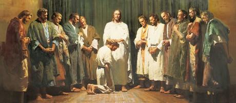 Christ Ordaining the Apostles