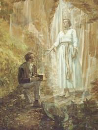 Joseph Smith Receives the Gold Plates