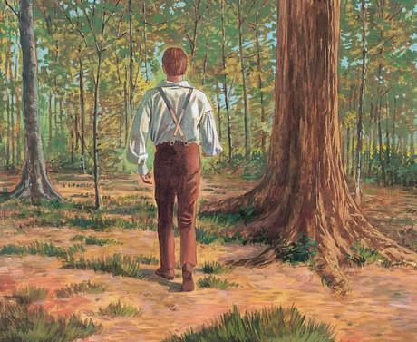Joseph in woods
