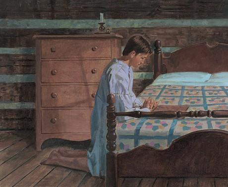 Joseph praying