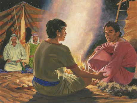Nephi talking to Sam