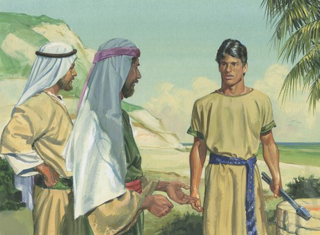 Laman and Lemuel with Nephi