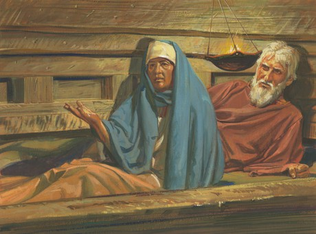 Lehi and Sariah