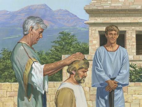Nephi blesing Jacob