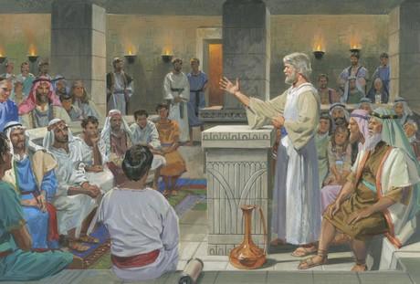 Jacob teaching people
