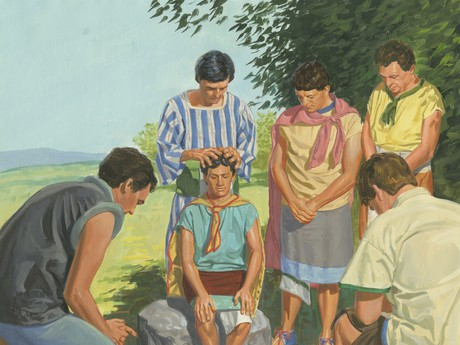 Alma ordaining others