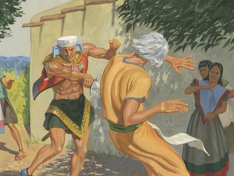 Nehor killing Gideon