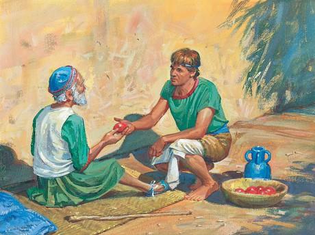 men sharing