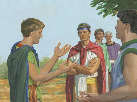 Nephites talking