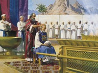 Moses Gives Aaron the Priesthood