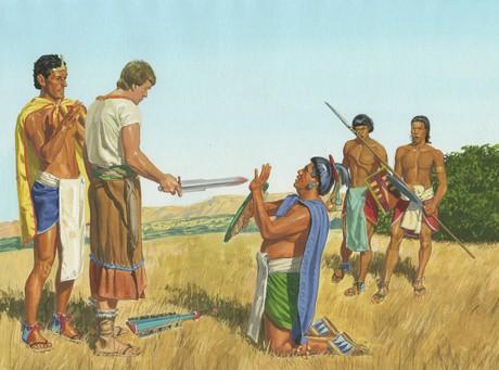 Ammon and Lamoni's father