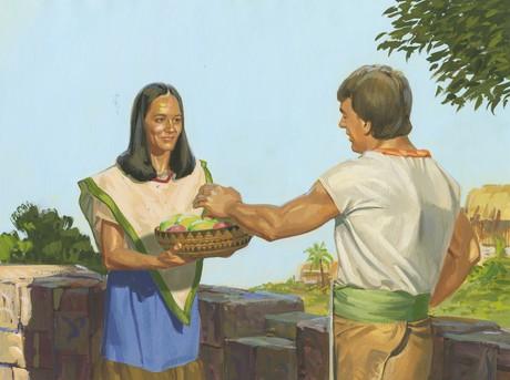 missionary getting food