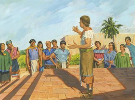 missionary teaching poor people