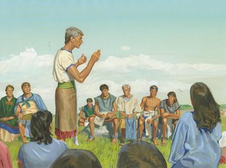 Alma preaching
