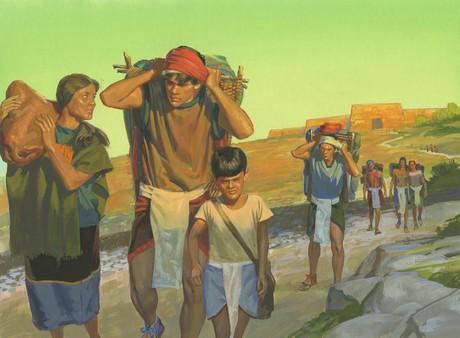 believers leaving city