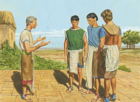 Alma speaking to sons