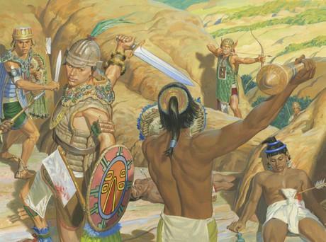 Lamanites fighting