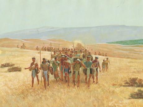 Nephites traveling