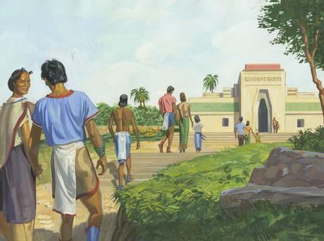 Lamanites walking