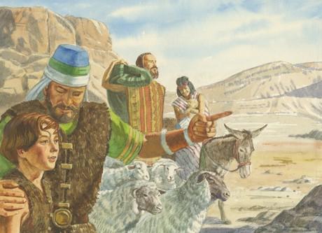 Jaredites traveling
