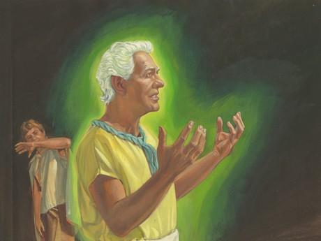 Holy Ghost protecting Abinadi