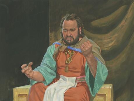 King Noah angry
