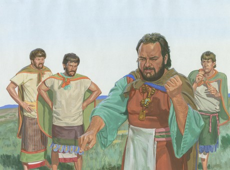 Noah with other men