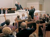 sustaining in sacrament meeting