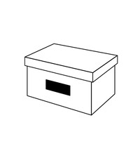 box with hole