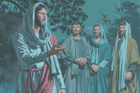 Image result for james and john with Lord Jesus