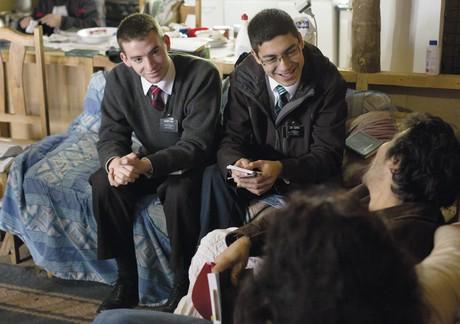 missionaries teaching