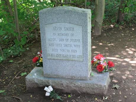 Alvin Smith gravestone