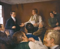 Joseph Smith teaching