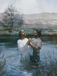 John the Baptist Baptizing Jesus