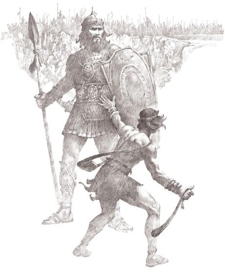 David Slays Goliath