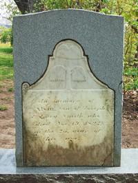 Alvin Smith's gravestone