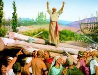 Noah preaching