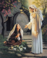 Mary and the Resurrected Jesus