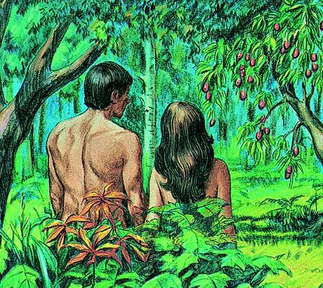 亚当,夏娃和树