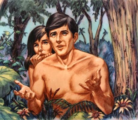 亚当和夏娃与神说话