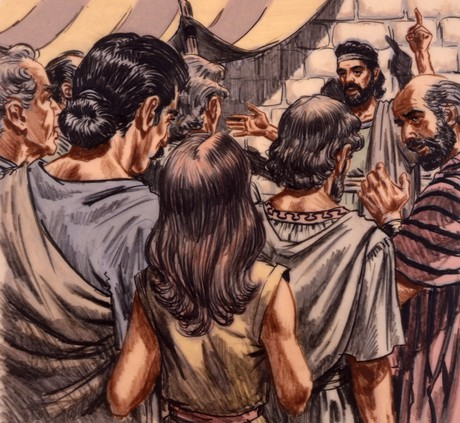 Enoch preaching