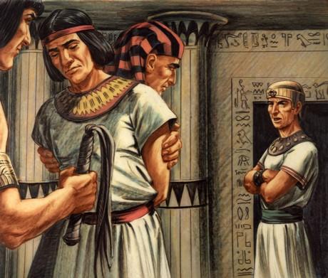 Potiphar Sending Joseph To Prison