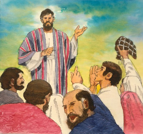 Israelites yelling at Moses