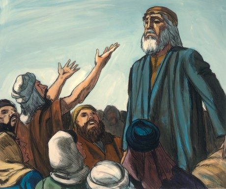 Israelites speaking to Aaron