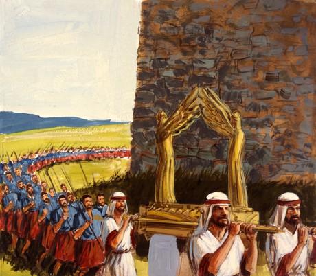 Israelites marching