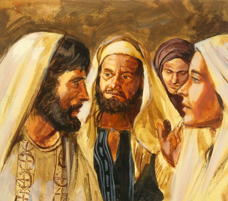 Boaz marrying Ruth